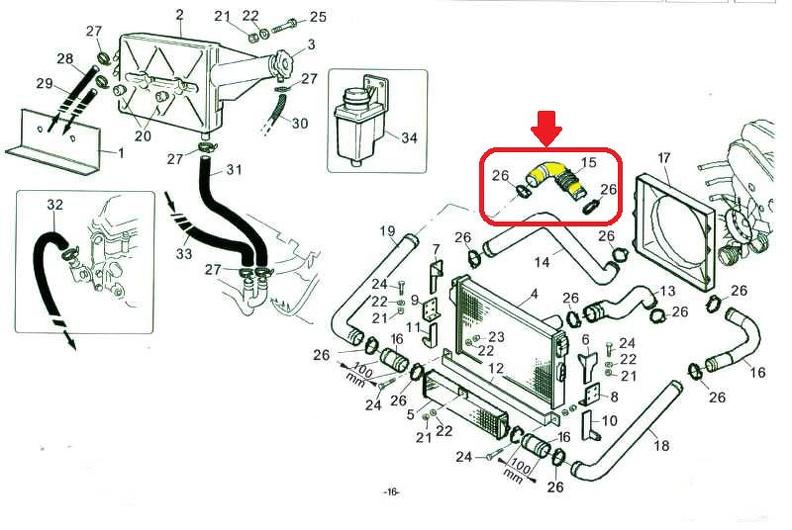 Ladeluftkühler Turbo Schlauch Iveco Daily III IV V 02-14 504116893 ORI Qualität